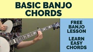 Free Banjo Lesson: Basic Banjo Chords