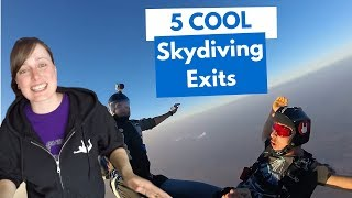 Skydiving Exits - 5 cool ideas for skydivers