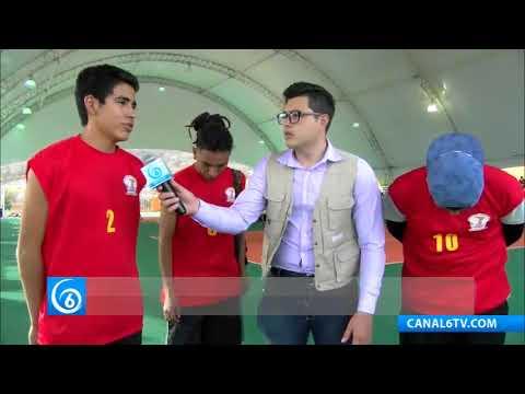 El voleibol, de lo más popular en la espartaqueada de Tecomatlán, Puebla