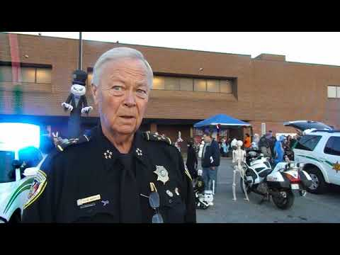 Video: Sheriff Wayne Anderson at SCSO's 2017 Halloween Trunk-or-Treat
