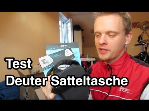 Test Deuter Bike Bag Satteltasche | Fahrradtasche | Satteltasche Fahrrad | Satteltasche MTB