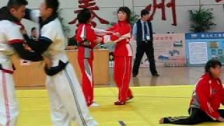 preview picture of video 'Taizhou 2007 Shuai Jiao Warming-up 泰州 2007 摔跤'