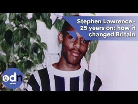 Stephen Lawrence - 25 years on - how it changed Britain