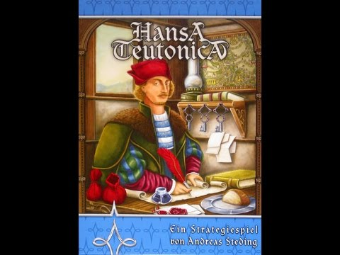 how to play and review: Hansa Teutonica