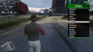 GTA V Online - Updated 1.36 Mod Menu w/ Money Hack + TUTORIAL [PC]