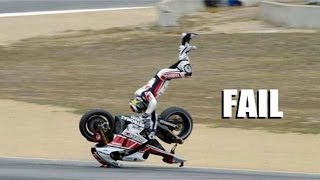 AMAZING FAIL & CRASH COMPILATION OF MOTORCYCLE - BEST EVER COMPILATION !!!