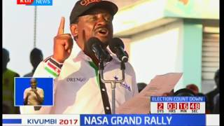 NASA Grand rally: NASA seeks a huge turnout by supporters