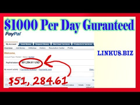 How To Make Money Online – Fast Way To Make Money From Home 2017 & 2018 $1,000 Per Day