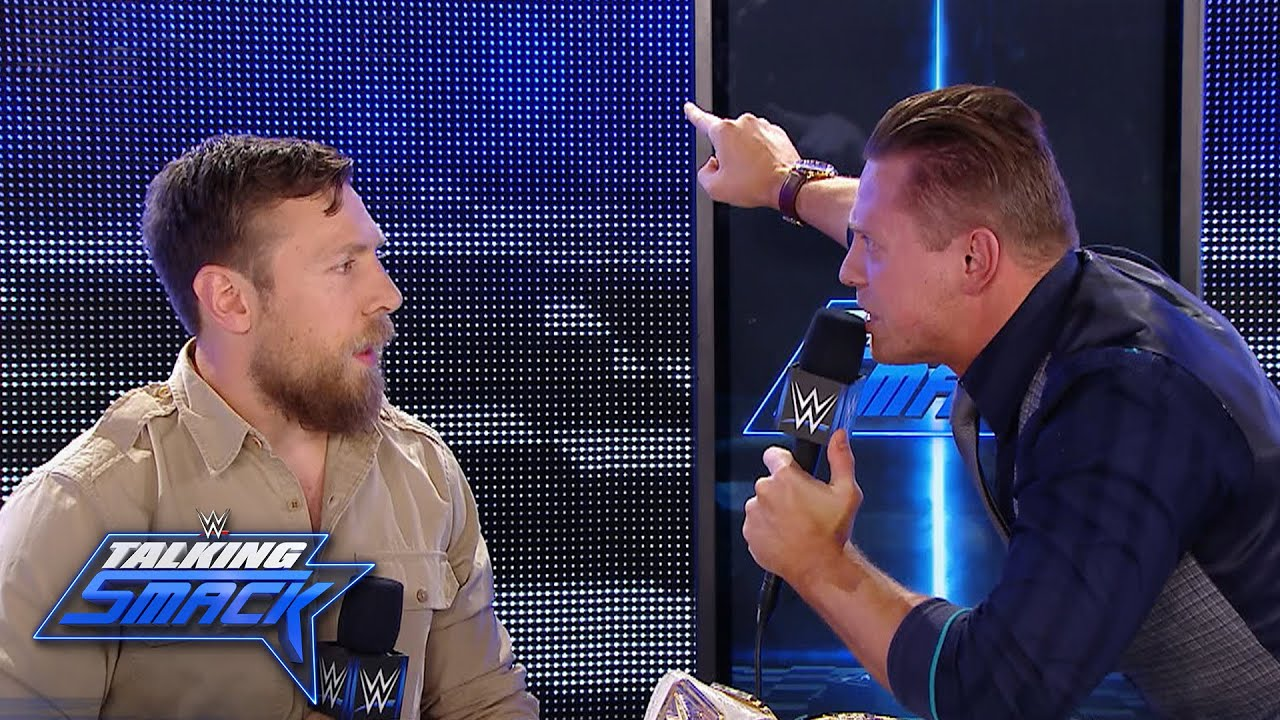The Miz Explains Animosity Behind His Talking Smack Segment With Daniel Bryan