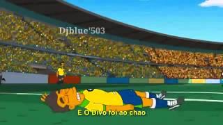 The Simpsons predicted Neymar's injury !