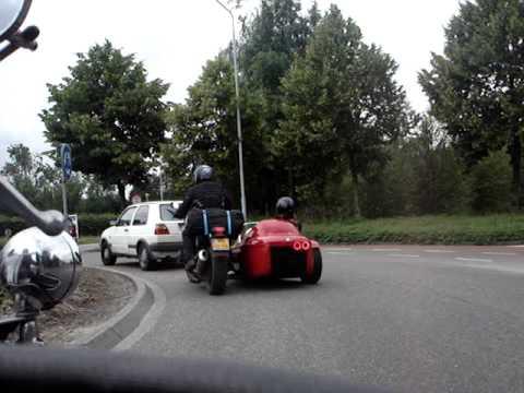 Onderweg naar Moto Guzzi Treffen 2010