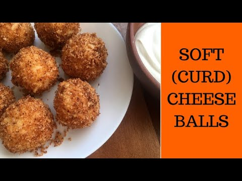 Soft cheese balls for breackfast. Easy and tasty (kids friendly)