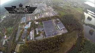preview picture of video '2014-10-20 CHEŁMEK Widok na miasto, zakład MAFLOW , zbiornik Dziećkowice | HD'