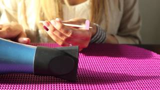Heating Your Jamberry Nail Wraps Using A Hair Dryer - Christina Chitwood Performance