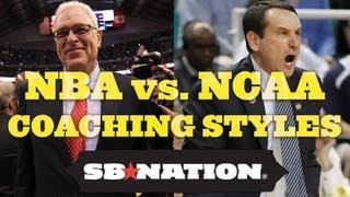 NBA vs. NCAA coaching styles thumbnail