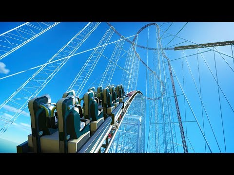 I Built an 800+ G Force Roller Coaster This Happened - Planet Coaster
