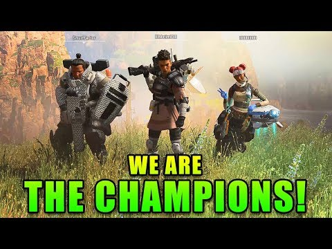 WE ARE THE CHAMPIONS! - Apex Legends with Matimi0 and XFactor