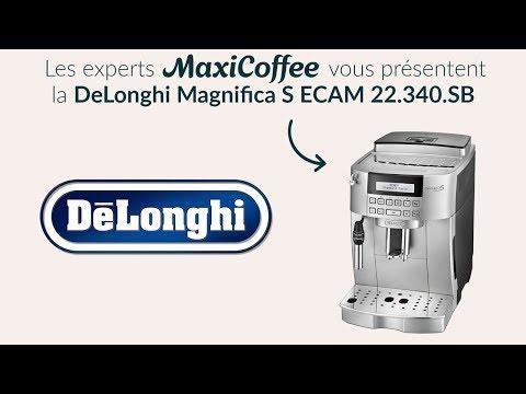 Delonghi Magnifica S ECAM 22.340.SB | Machine à café automatique | Le Test MaxiCoffee