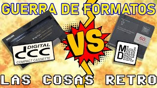 Philips DCC vs. SONY Mini Disc 💥 GUERRA de FORMATOS
