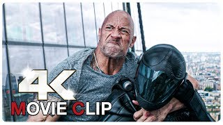 Hobbs Vs Shaw - Elevator Fight Scene - FAST AND FURIOUS 9 Hobbs And Shaw (2019) Movie CLIP 4K