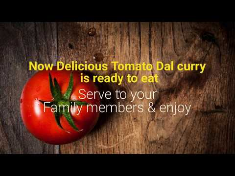 Delicious Tomato Dal Curry