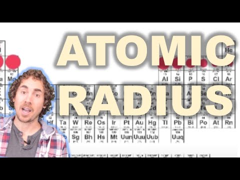 Periodic Trends Atomic Radius Video Chemistry Ck 12 Foundation