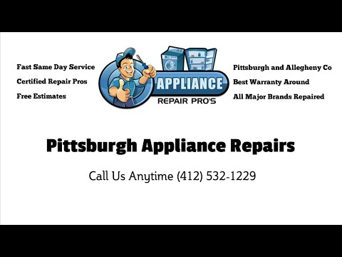 Best Appliance Repair Pitcairn PA (412) 532-1229 Same Day Appliance Service