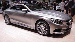 Mercedes Classe S Coupé - Salon Auto Genève 2014