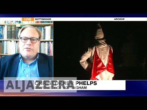 'White supremacists have been emboldened by Trump'