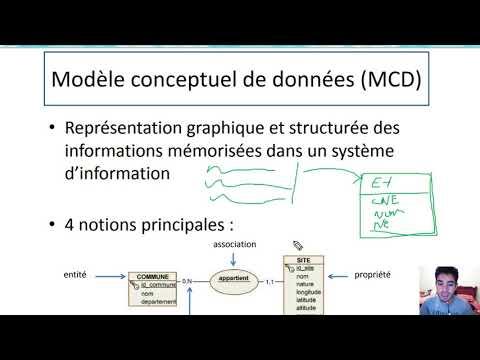 2#Merise  MCD (Modèle Conceptuel de Données) Darija