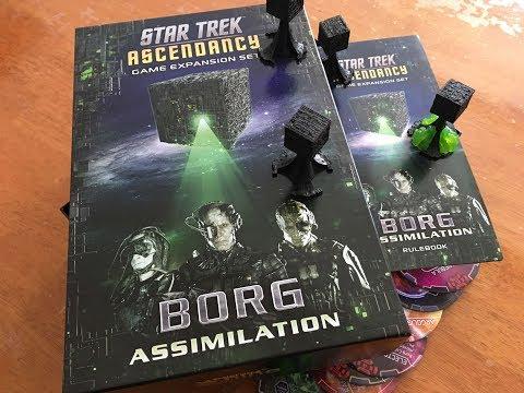 Star Trek Ascendancy Borg Assimilation Expansion Quick Unboxing