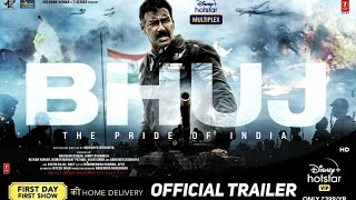 Bhuj The Pride of India Official Trailer | Ajay Devgn,Sanjay Dutt,Sonakshi Sinha |Concept Trailer