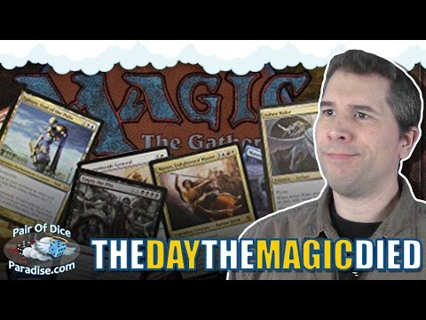 Why I Don't Play Magic: The Gathering Anymore