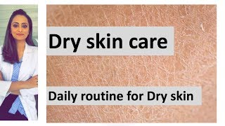Dry skin care |moisturiser, face wash, sunscreen, anti-aging creams etc| home remedy |Dermatologist