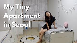 My Tiny Seoul Apartment (officetel) Tour   $500/month 200sqft