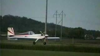 RC aerobatics with an Ace Bingo - torque maneuvers, hammerheads, tail-slides