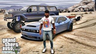 GTA 5 REAL LIFE MOD #612 - 2500HP DODGE DEMON!!! (GTA 5 REAL LIFE MODS)