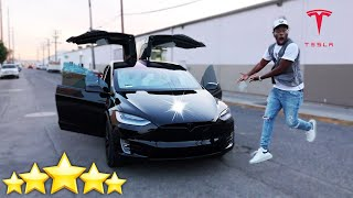 Buying My BRAND NEW 2021 TESLA MODEL X (Miss Thotiana San Francisco Car)