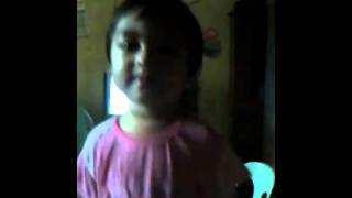singing Joycerene Nicole Ren Tolentino.. yeah!!