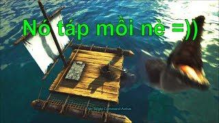 ARK: Thieves Island #12 - Đi câu cá sấu Nam Mỹ =))