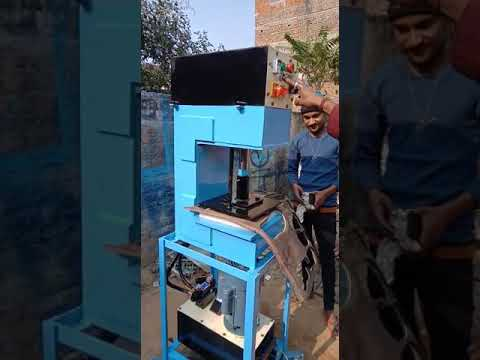 Hydraulic Hawai Chappal Making Machine