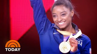Simone Biles Becomes The Most Decorated Gymnast In World Championships History | TODAY