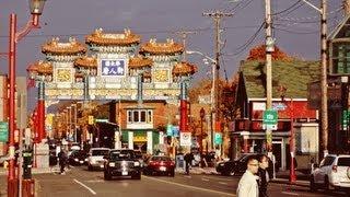 preview picture of video 'Ottawa's Chinatown - Китайський район в Оттаві'