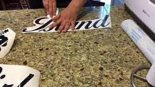 How To Use Contact Paper As Transfer Tape