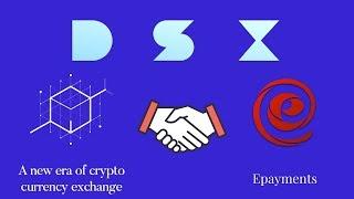DSX.UK - биржа/обменник сервиса EPAYMENTS (Епейментс). Полный обзор.