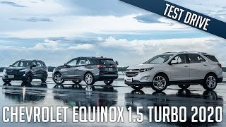 Chevrolet Equinox 1.5 Turbo 2020 - Dirigindo na pi