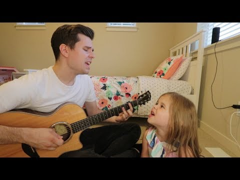 MEANT TO BE - BEBE REXHA + FLORIDA GEORGIA LINE COVER - 5-YEAR-OLD CLAIRE AND DAD