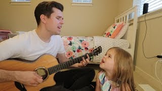 Gambar cover MEANT TO BE - BEBE REXHA + FLORIDA GEORGIA LINE COVER - 5-YEAR-OLD CLAIRE AND DAD