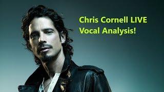Chris Cornell LIVE Vocal Analysis (Black Hole Sun Acoustic)!