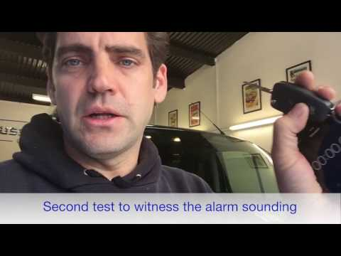 Ford Transit Custom Alarm alert - Please Share with Ford Custom Owners so they can check their vans